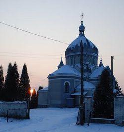 Церква святого Івана Богослова в селі Вербіж