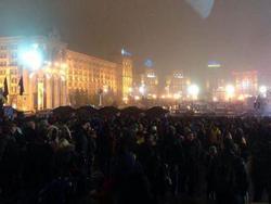 У Києві розігнали Евромайдан